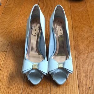 71101a2aec2 Ted Baker Shoes - Ted Baker Alifair Baby Blue Pump